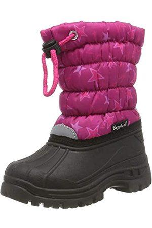 Playshoes Unisex-Kinder Winter-Bootie Sterne Schneestiefel, Pink (Pink 18)
