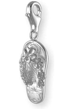 Melina Damen-Charm Anhänger Flip Flop Schuh 925 Sterling Silber 1800313