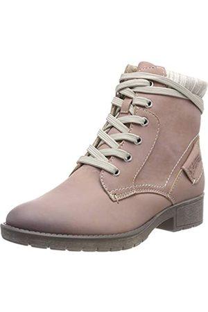 Soft Line Damen 25262-21 Combat Boots, Pink (Rose 521)