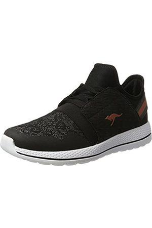 KangaROOS Damen W-300 Sneaker, (Black/Vapor Grey)