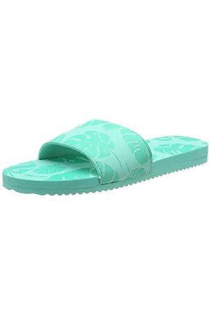 flip*flop Damen poolypalm Pantoletten, (Lt Turquoise 4271)
