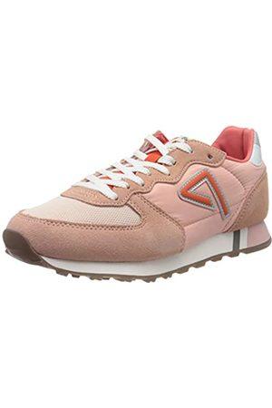 Pepe Jeans London Damen KLEIN Archive Summer W Sneaker, Pink (Coral 179)