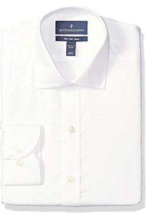 Buttoned Down Classic-Fit Spread-Collar Micro Twill Non-Iron dress-shirts