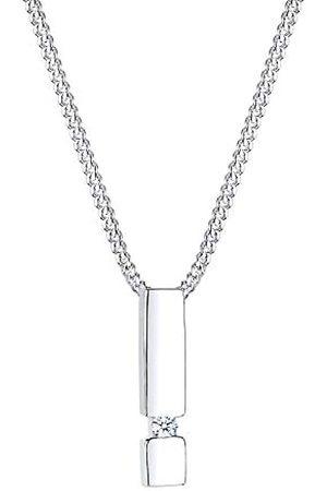 DIAMORE Halskette Stab Diamant 925 Sterling Silber