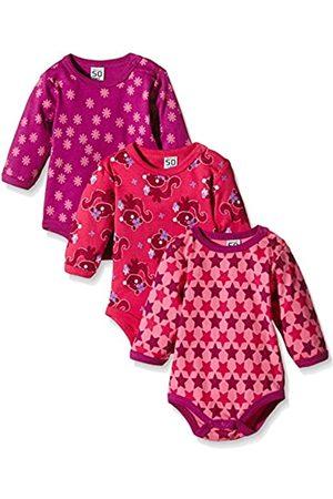 Exklusiv Care Baby Strampler mit Zip im 3er Pack
