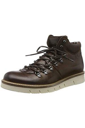 Jack & Jones Herren JFWCOLUMBUS Leather Klassische Stiefel, (Brown Stone Brown Stone)