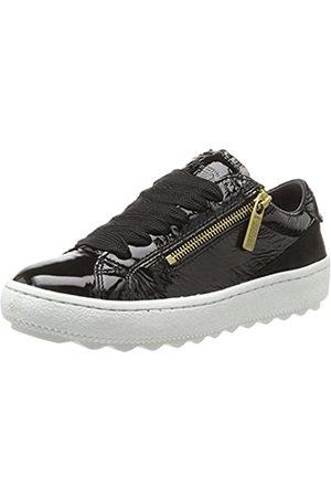 Tommy Hilfiger Damen A1385RIEL 1Z1 Sneaker, (Black)