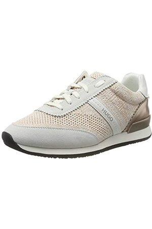 HUGO BOSS Damen Adrienne-KN Sneaker, (White 100)