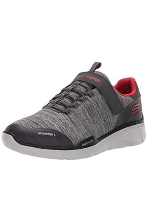 Skechers Boys' Equalizer 3.0 - Aquablast Trainers, Grey (Charcoal Grey Ccgy)