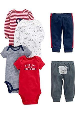 Simple Joys by Carter's Baby 6-teiliges Set (kurz- und langärmelig) und Hosen