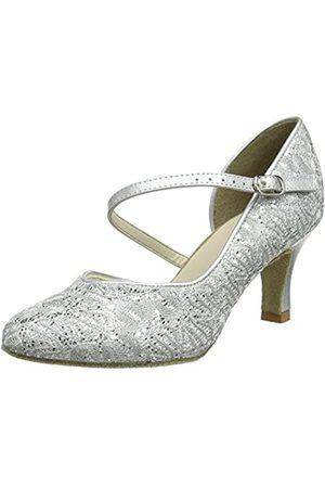 So Danca Damen Standard & Latein Tanzschuhe - Standard & Latein, (Silver Sparkle)