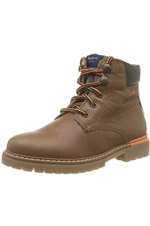 Pepe Jeans London Jungen Combat Nylon Desert Boots, (Tan 869)