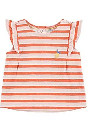 TOM TAILOR Mädchen T-Shirts/Tops Gestreiftes T-Shirt mit Volant 
