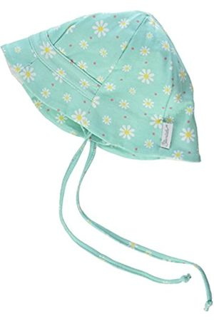 Sterntaler Fischerhut für Mädchen mit Bindebändern, Nackenschutz und Blümchenmuster, Alter: ab 5-6 Monate, Größe: 43