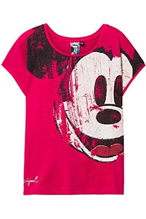 Desigual Mädchen Girl Knit Short Sleeve (TS_Earwig) T-Shirt