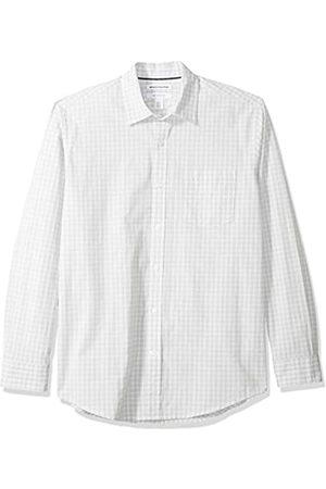 Amazon Herrenhemd, regulärer Schnitt, langärmlig, Popeline