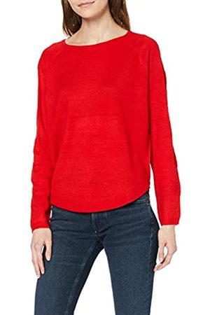 Vero Moda Damen VMCAVA LS Structure Blouse Color Langarmshirt