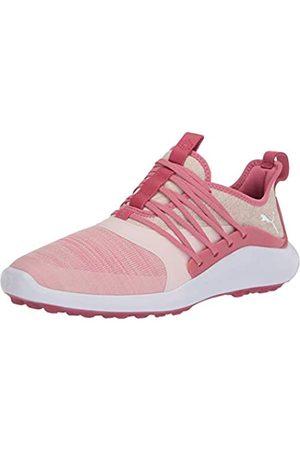 Puma Damen Golfschuh Ignite Nxt Solelace, Pink (Rapture Rose Metallic Silver)