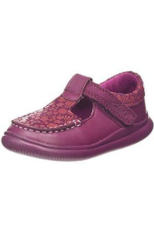 Clarks Mädchen Cloud T Geschlossene Ballerinas, Pink (Berry Leather Berry Leather)