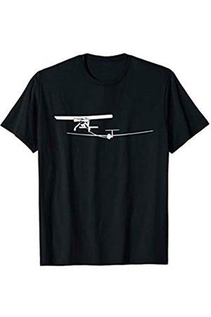 Segelflieger T-Shirts by Flieschen Wilga F-Schlepp Segelflieger Segelflugzeug Pilot fliegen T-Shirt