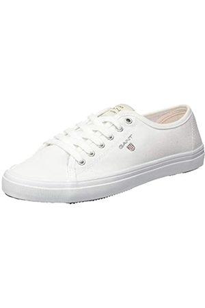 GANT Footwear Damen PREPTOWN Sneaker, (Bright White G290)