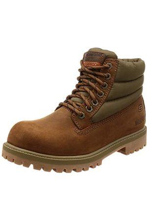 Skechers Herren Sergeants-verno Klassische Stiefel, ((Dark Brown Leather Cdb)