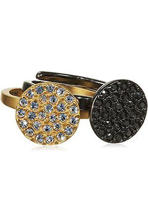 Pilgrim Jewelry Damen-Stapel-Ring Messing Kristall Glaskristall Gr. 321347154