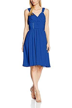 Astrapahl Damen Cocktail Kleid mit verzierenden Applikationen, Knielang, Einfarbig, Gr. 34