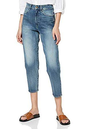 G-Star Damen Janeh Ultra High Waist Mom Ankle Straight Jeans