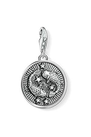 Thomas Sabo Damen Herren-Charm-Anhänger Sternzeichen Fische Charm Club 925 Sterling Silber 1639-643-21