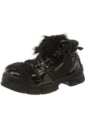 D.franklin Damen Treckton Sneaker, (Negro 0020)