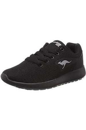 KangaROOS Unisex-Erwachsene Kaishu II Sneaker, (Jet Black/Mono 5500)