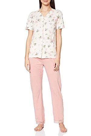 Mary White Damen AF.FLO.PYGT Zweiteiliger Schlafanzug