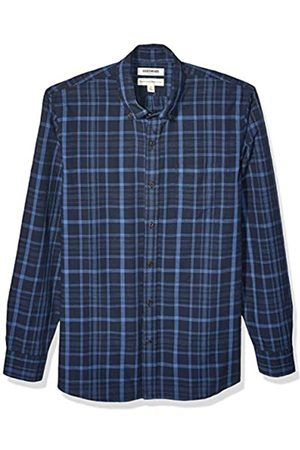 Goodthreads Standard-Fit Long-Sleeve Pattern Chambray button-down-shirts