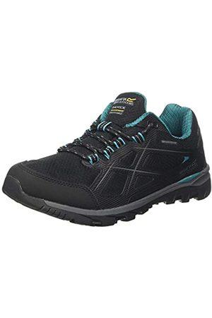 Regatta Damen kota Low Ii' Waterproof Hiking Boots Trekking-& Wanderhalbschuhe, (Black/Shorelin 4ba)