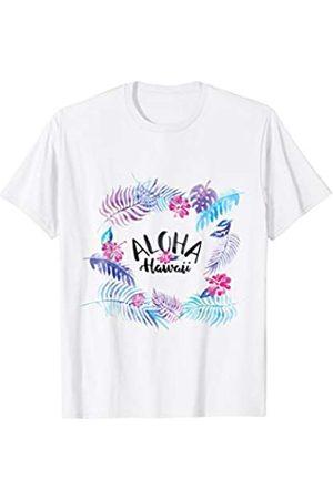 Totality Aloha Hawaii Blütenblätter T-Shirt