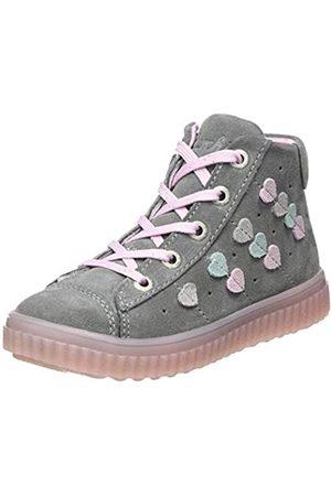 Lurchi Mädchen YES Hohe Sneaker, (Grey 25)