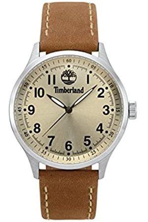 Timberland Herren Analog Quarz Uhr mit Leder Armband TBL15353JS.07