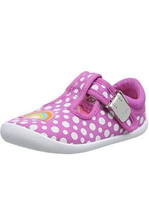 Clarks Mädchen Roamer Sun T Sneaker, Pink (Hot Pink Hot Pink)