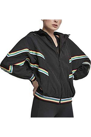 Urban classics Damen Ladies Multicolor Rib Batwing Windbreaker Jacke