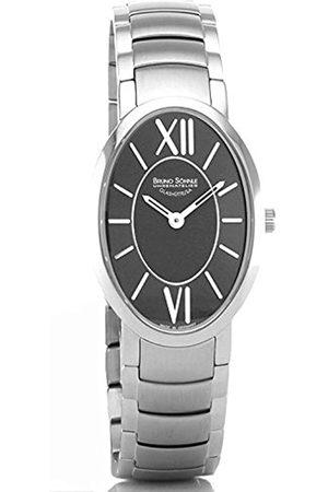 Soehnle Bruno Söhnle Damen Analog Quarz Uhr mit Edelstahl Armband 17-13141-772