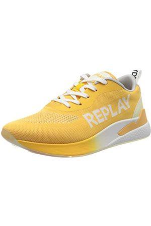 Replay Damen Maze - Botanic Sneaker, (Yellow 87)