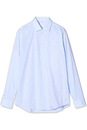 Seidensticker Herren Business Hemd Slim Fit – Bügelfreies Businesshemd