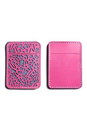 Dallaiti Design Damen Porta Carte Di Credito Traforato In Pelle Kreditkartenhüllen