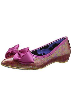 Irregular Choice Damen Mint Slice Geschlossene Ballerinas, Pink (Pink Dark)