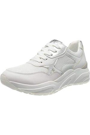 Marco Tozzi Damen 2-2-23747-34 Sneaker, Mehrfarbig (White/Silver 191)