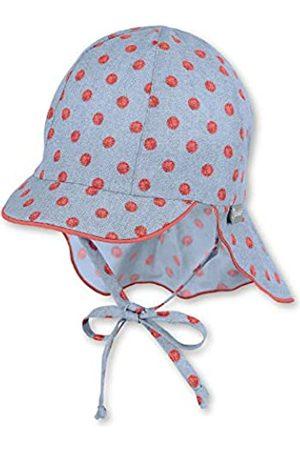Sterntaler Baby-Mädchen Sun Hat with Neck Protection Mütze