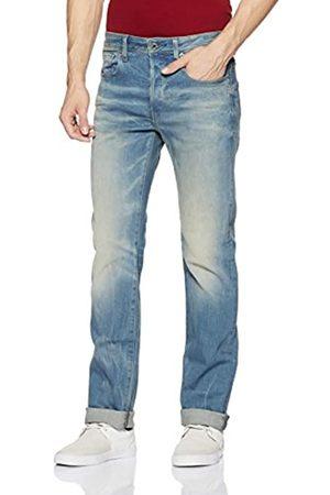 G-Star G-Star Herren Straight Leg, Jeans, 3301, 51002.6541.424.30.38, GR. W38/L30 (Herstellergröße: 38W x 30L)