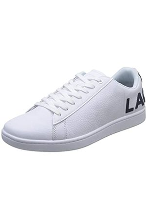 Lacoste Herren Carnaby EVO 120 7 US SMA Sneaker, (Wht/NVY)