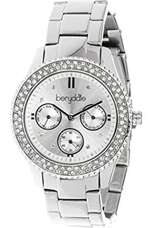 Berydale Damen Armbanduhr mit Metall-Gliederband und Quarzwerk